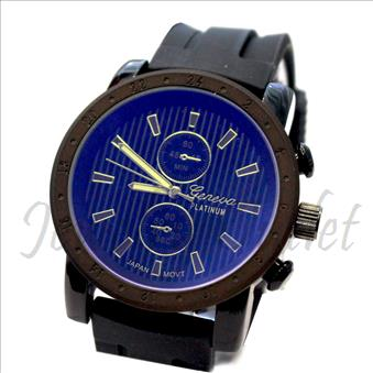 Designer inspired watch Collection, Classic look fashion men's. With Jelly Band and Premium Designer Look.