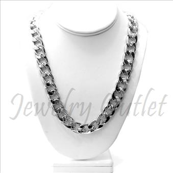 Hip Hop Fashion Silver Cuban Chian With 30 Inch