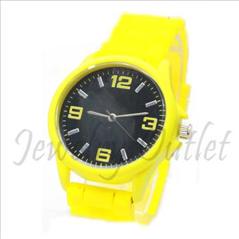 Designer inspired watch Collection, Classic look fashion Ladies. Jelly Band and Premium Designer Look