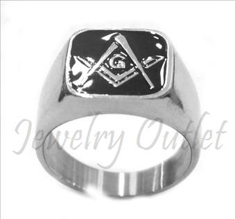 Stainless Steel Mens Ring
