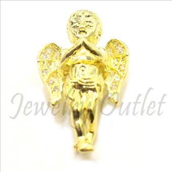Hip Hop Angel Fashion Pendant Gold Plating