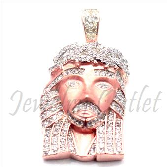 Exclusive Jesus Face Pendant