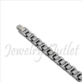 Tungsten Carbide Mens Bracelet